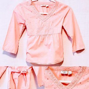 🌈Cato Girls top size M (8/10)